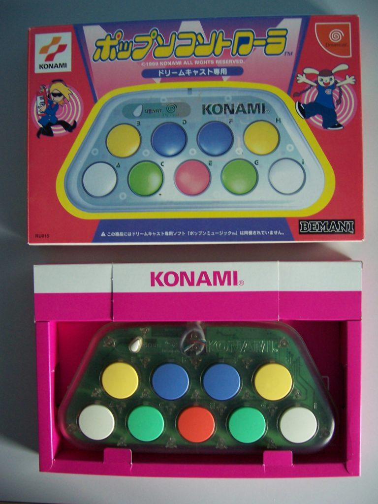 Konami PopnMusic Control Board