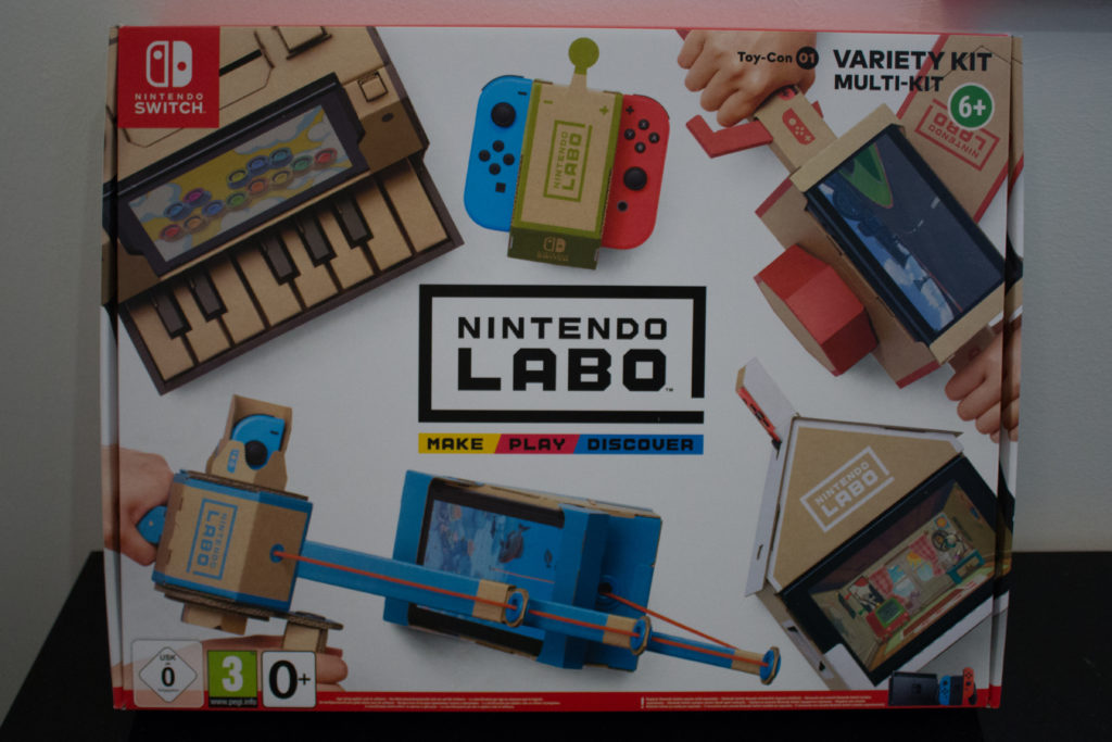 Labo Toy Con  Activity Kit  Front scaled