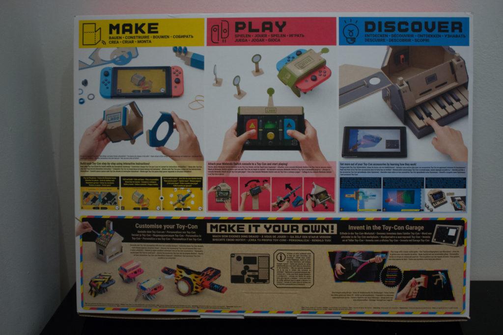 Labo Toy Con  Activity Kit  Back scaled