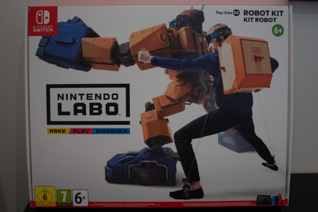 Labo Toy Con  Robot Kit  Front scaled