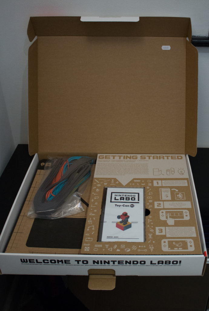 Labo Toy Con  Robot Kit  Contents scaled