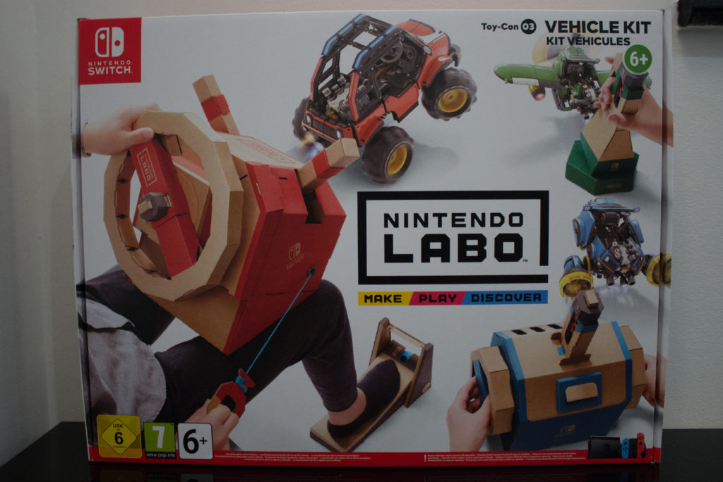 Labo Toy Con  Vehicle Kit  Front scaled