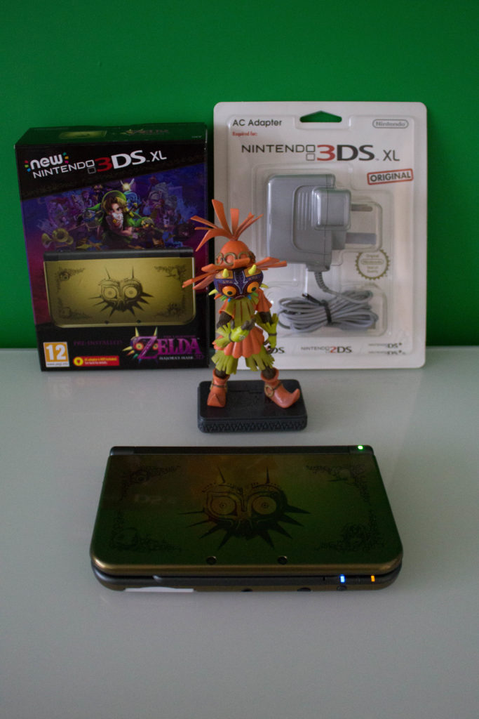 New Nintendo DS XL Majoras Mask Limited Edition Skull Kid Statue scaled