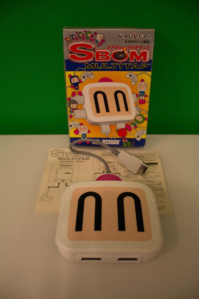 SBOM Multitap for Sega Saturn scaled