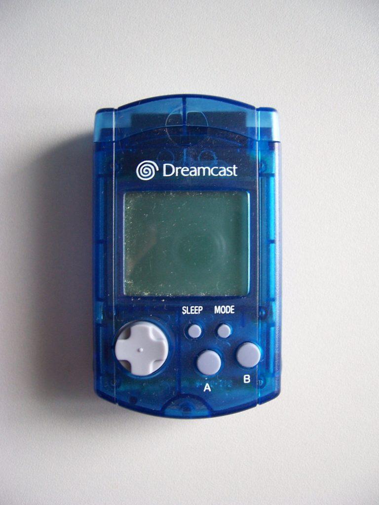 Sega Blue VMU