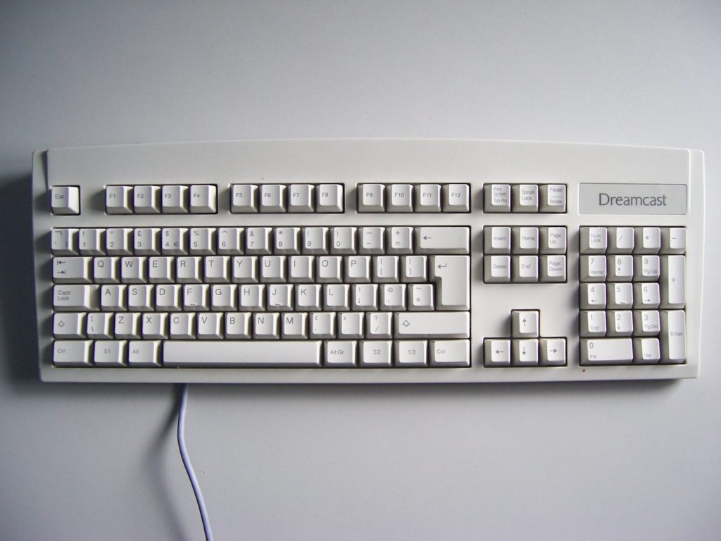 Sega Dreamcast Keyboard
