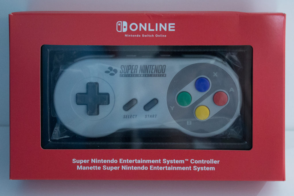 Switch Online SNES Controller scaled