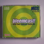Bleemcast For Metal Gear Solid (2) Back