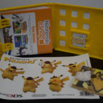 Detective Pikachu With Sticker Sheet & Key Ring (3) Contents