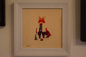 Fox Mccloud By Olly Moss