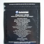 Gamecube Promo Dvd (2) Back