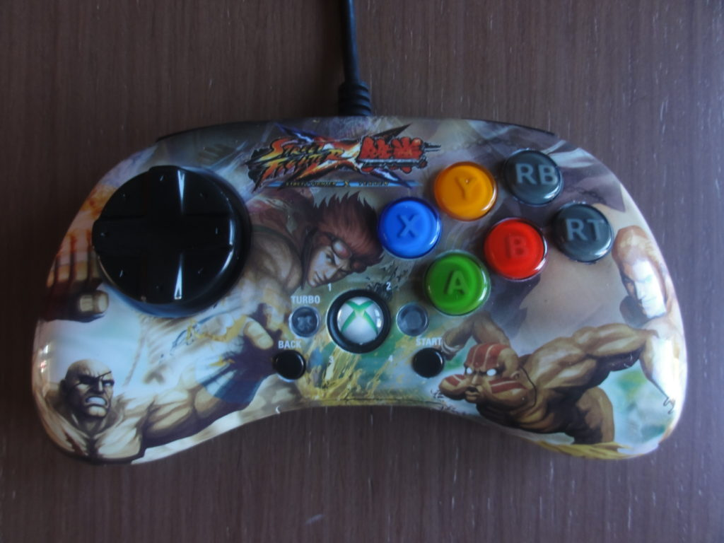 Madctatz Street Fighter X Tekken Sagat Fightpad