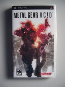 Metal Gear Ac!d (1) Front