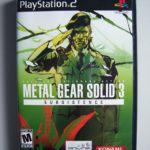 Metal Gear Solid 3 Subsistence (1) Front