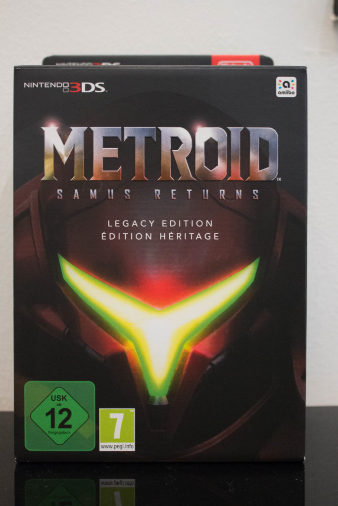 Metroid Samus Returns Legacy Edition (1) Front