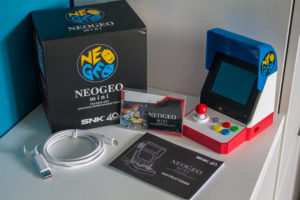 Neo Geo Mini (3) Contents
