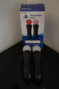 Playstation Move Motion Controllers