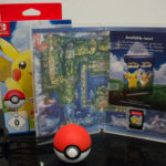Pokemon Let's Go Pikachu! & Poke Ball Plus (3) Contents