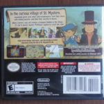 Professor Layton And The Curious Village (2) Back