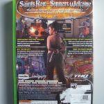 Saints Row (2) Back
