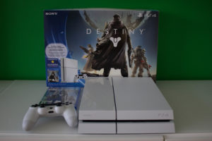 Sony Playstation 4 Glacier White Destiny Bundle