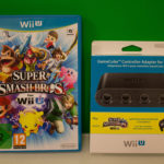 Super Smash Bros For Wii U With Gamecube Controller Adapter (3) Outer Contents