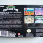 Teenage Mutant Ninja Turtles Iv Turtles In Time (2) Back