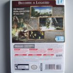 The Legend Of Zelda Twilight Princess (2) Back
