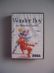 Wonder Boy In Monster Land (1) Front