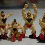 Desktop Zangief Player One Gachapon Toys