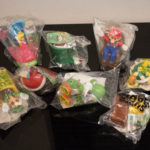 Mcdonalds Uk Super Mario Happy Meal Toys 2017 (full Set)