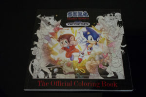 Sega Master System Genesis The Official Colouring Book