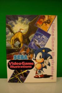 Sega Videogame Illustrations