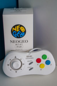 Neogeo Mini Pad White