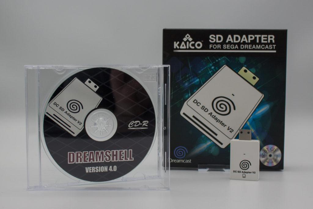 Kaico Sd Adapter & Dreamshell