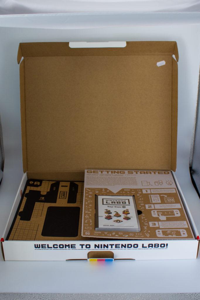 Labo Toy Con 04 Vr Kit Starter Set (3) Contents