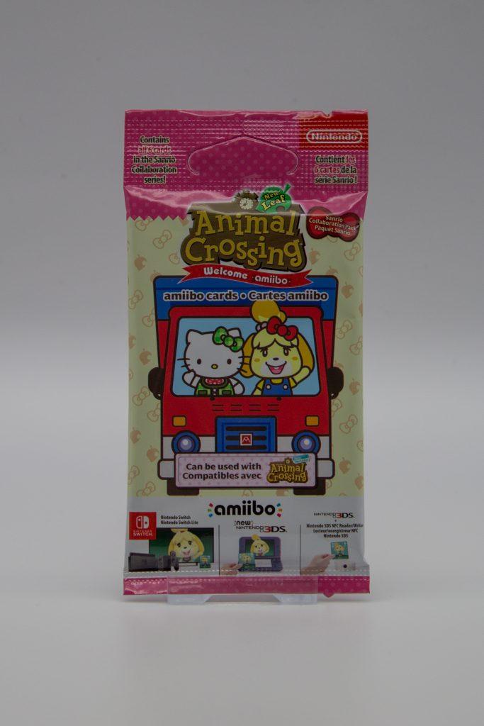 Animal Crossing New Leaf + Sanrio Amiibo Cards Pack