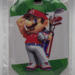 Club Nintendo Mario Golf Luggage Tag