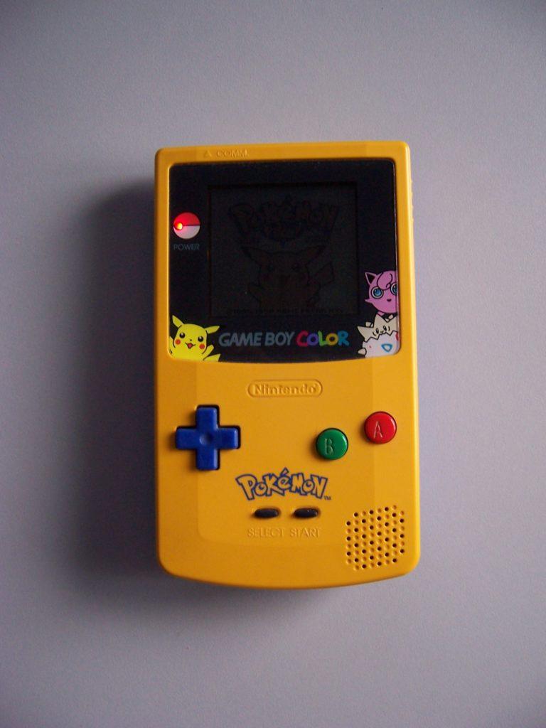 Nintendo Game Boy Color Limited Pokemon Yellow Edition