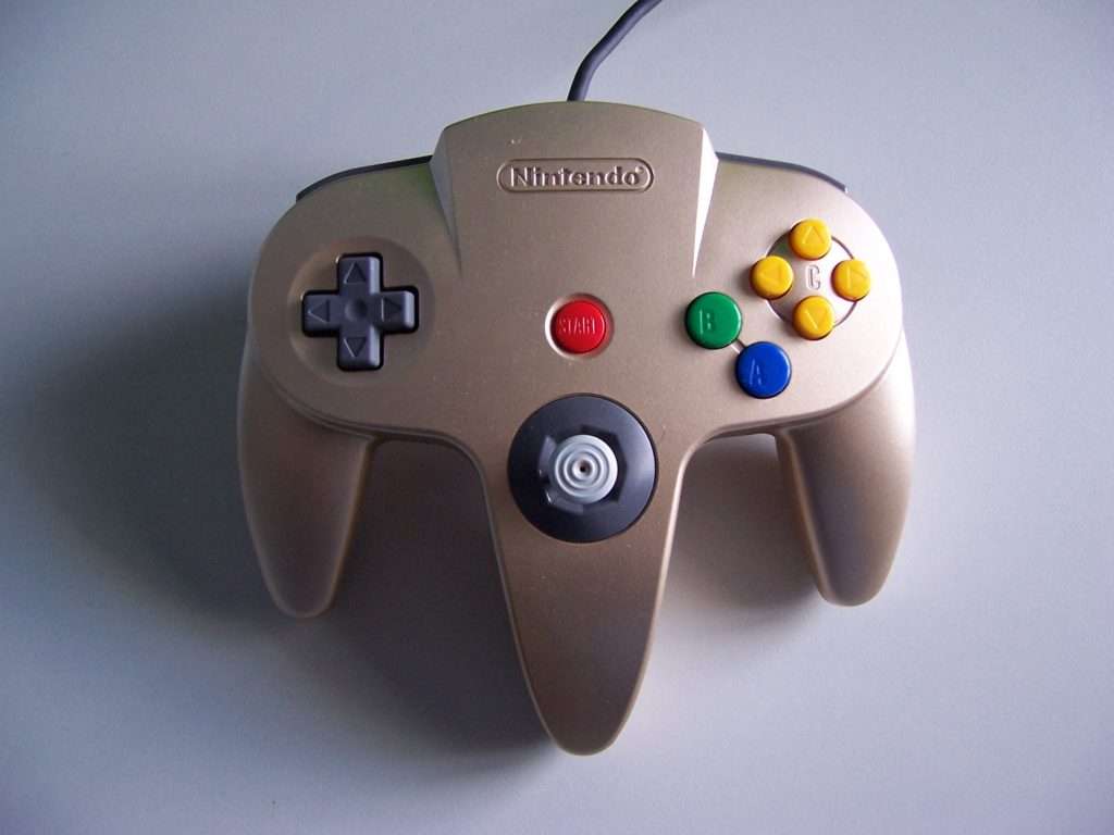 N Limited Edition Gold Control Pad