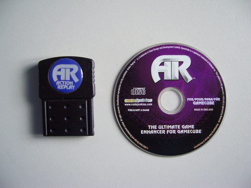 Action Replay Disc Dongle
