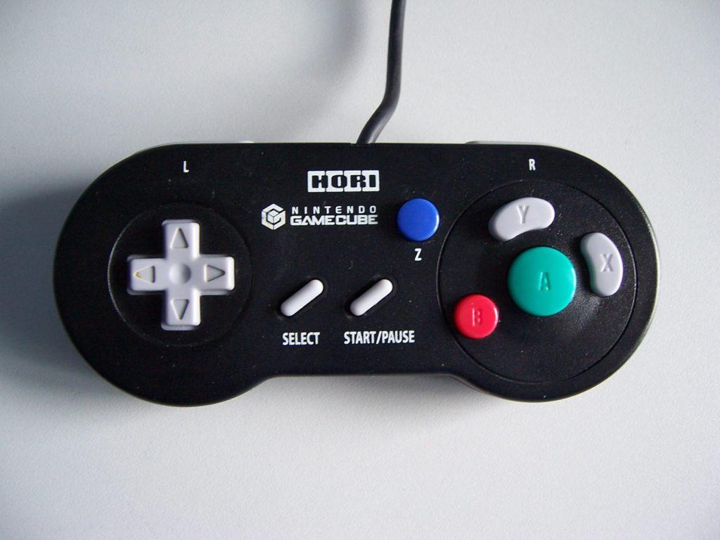 Hori Digital GameCube Controller Black