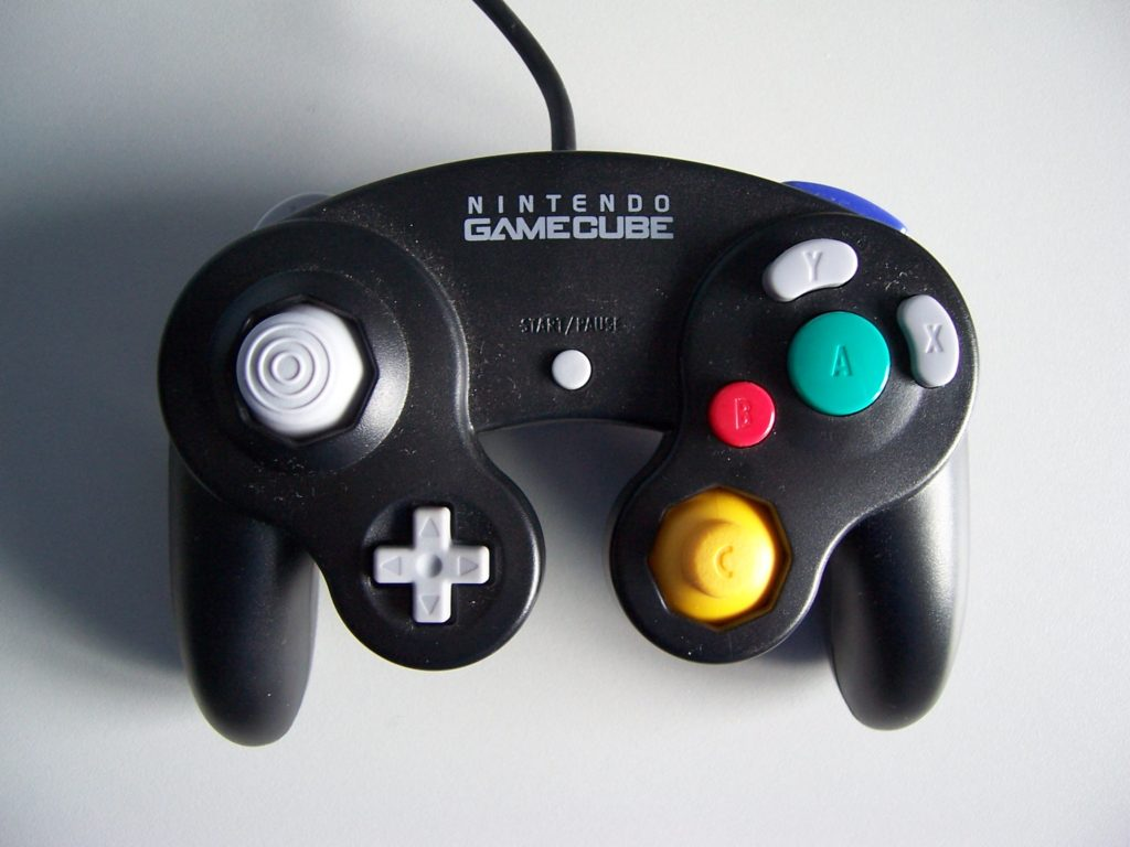 Nintendo GameCube Wired Controller Black