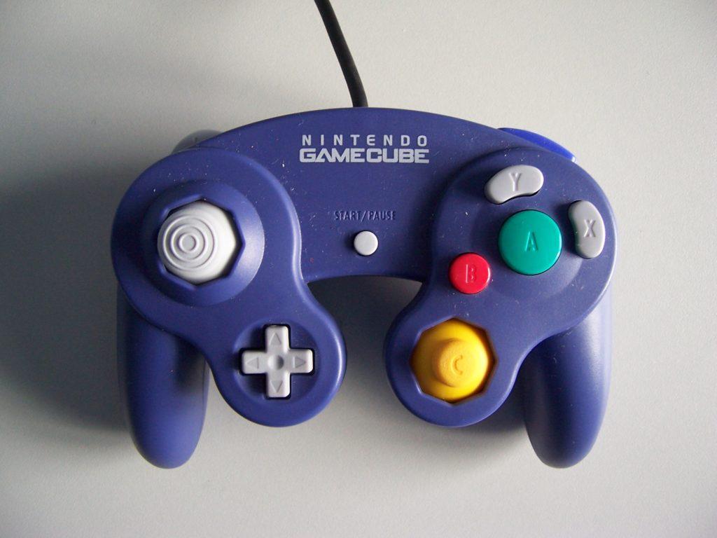 Nintendo GameCube Wired Controller Purple