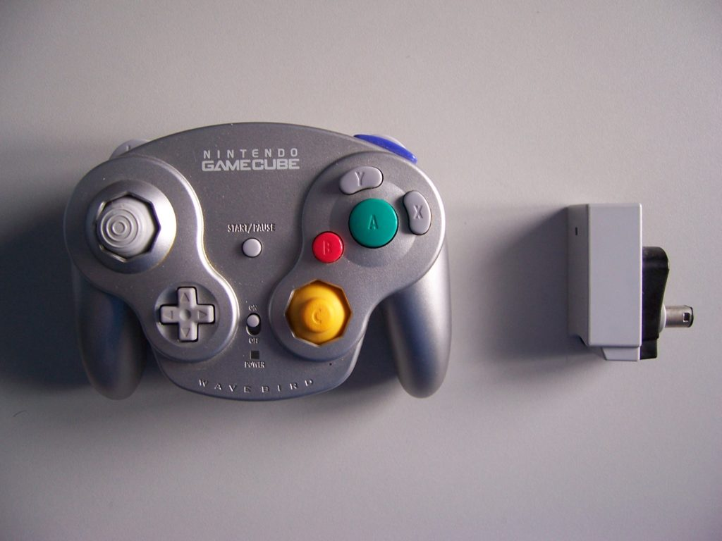 Nintendo Wavebird Silver