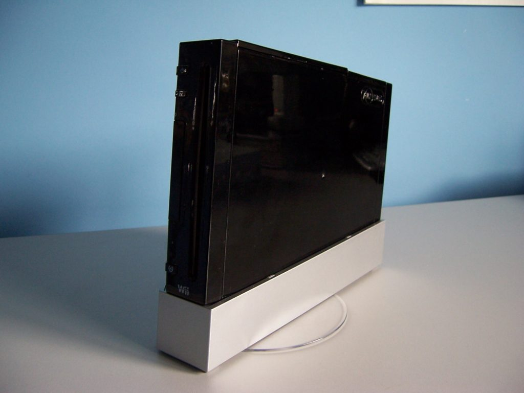 Nintendo Wii Black Case