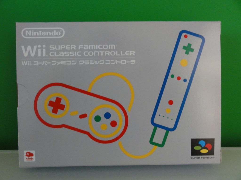 Wii Super Famicom Classic Controller  Front scaled