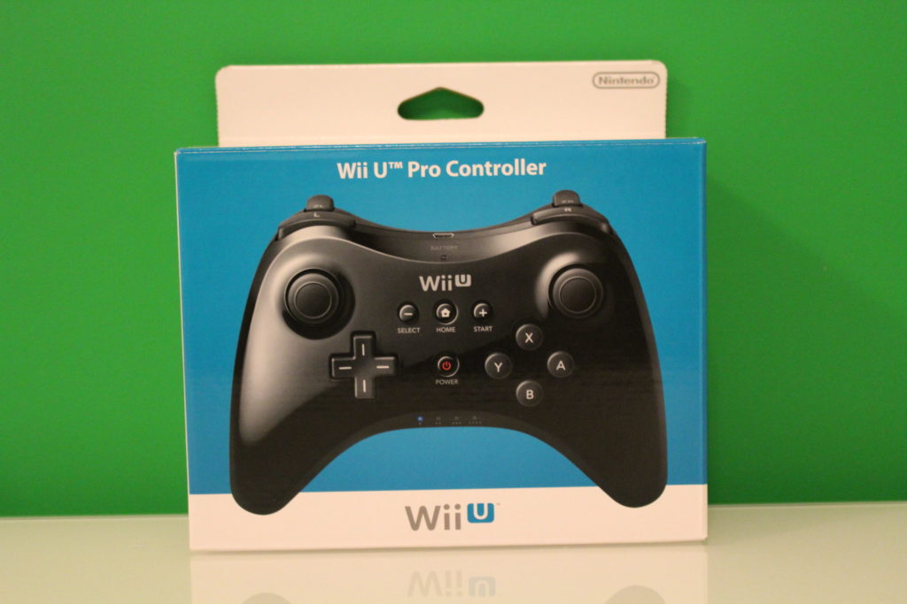 Nintendo Wii U Pro Controller  Front scaled