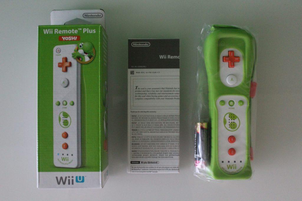 Yoshi Wii Remote Plus  scaled